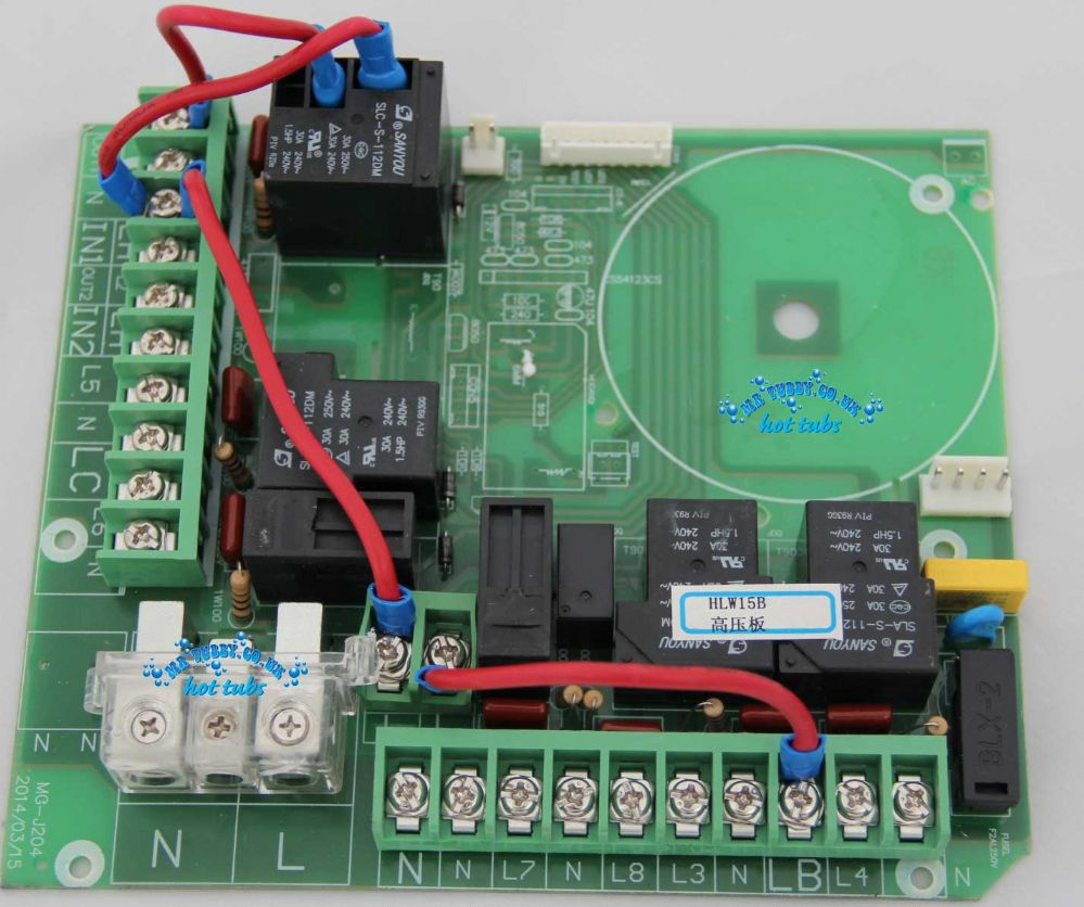 HLW15B High Voltage Relay Board